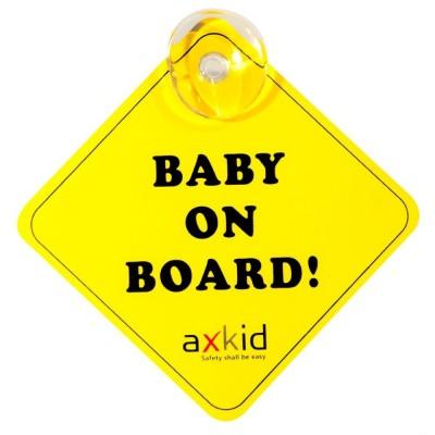 Señal de bebé a bordo Axkid