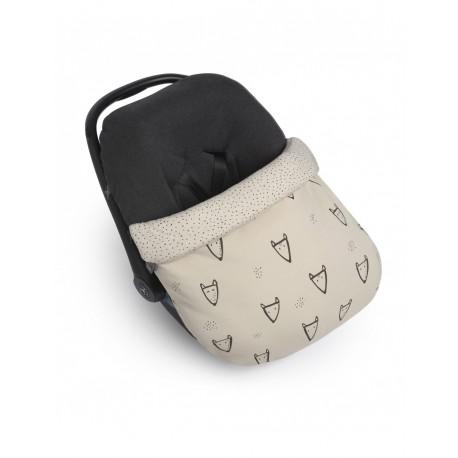 Saco Grupo 0+ Nuna Fox Baby Clic