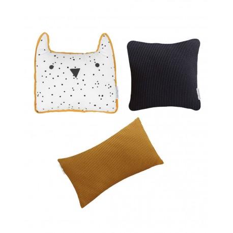 Pack 3 Cojínes decorativos Animals...