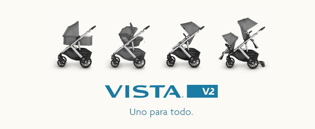 Cochecito Uppababy Vista V2 2020
